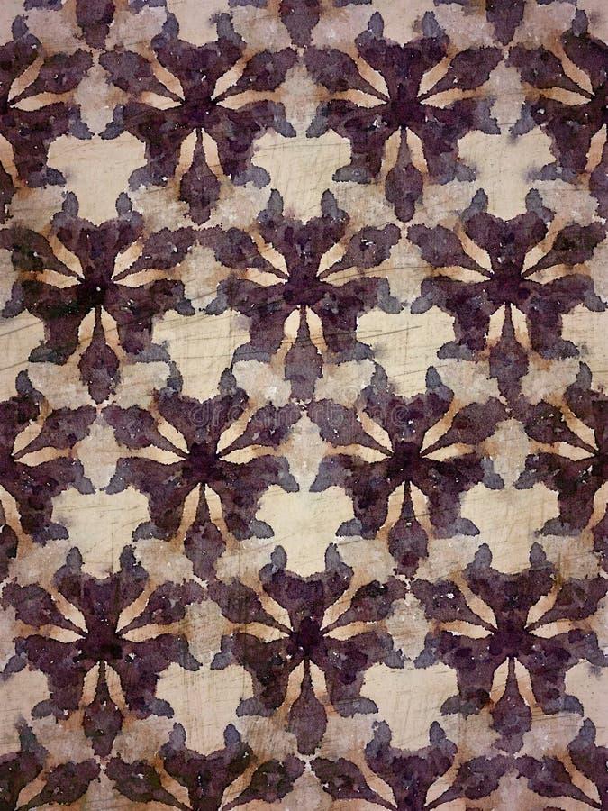 Lilor, kräm och brun grafisk stam- designbakgrund royaltyfri illustrationer