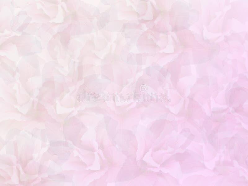 Lily Abstract avec le fond rose et blanc images libres de droits