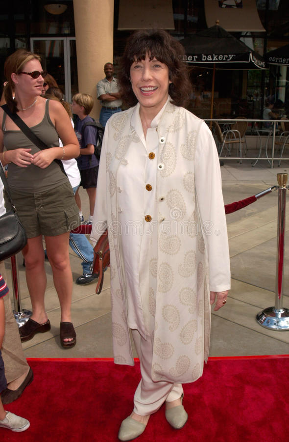 Lily Tomlin. Actress LILY TOMLIN at the world premiere, in Orange, CA, of her new movie Disney's The Kid stock image