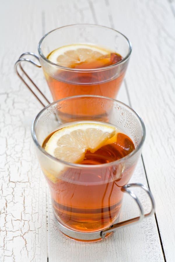 Limão do chá foto de stock royalty free