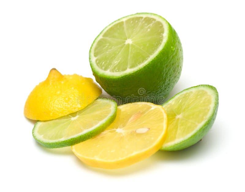 Limão e cal fotos de stock royalty free