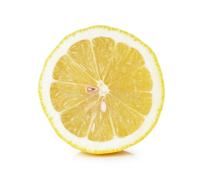 Limão e fatia fotos de stock