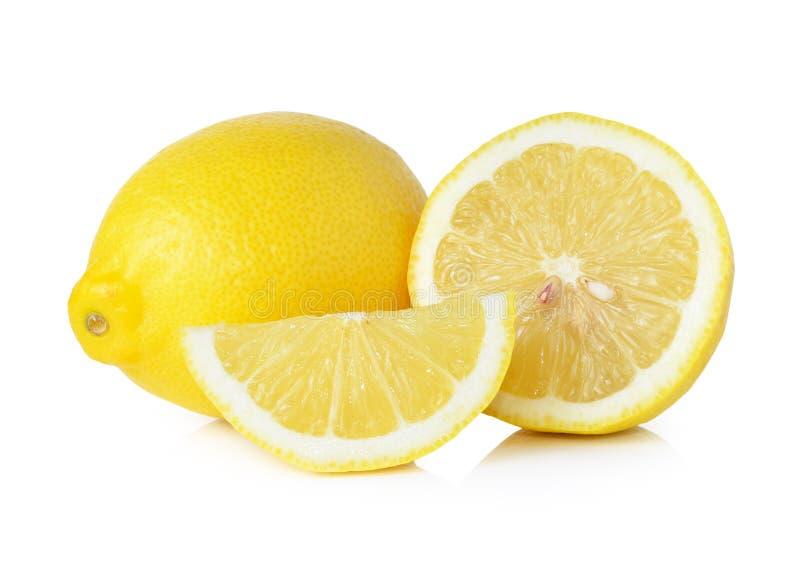 Limão e fatia fotos de stock royalty free