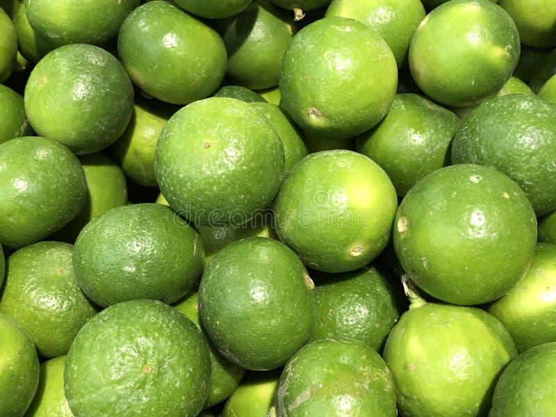 Limão fresco, fruto do limão da exploração agrícola orgânica fotos de stock royalty free