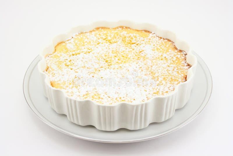 Limão Torte foto de stock