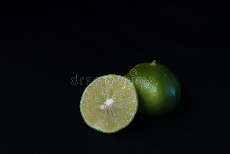 Limão verde foto de stock royalty free