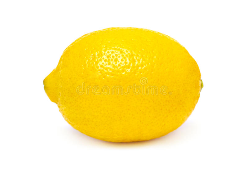 Limón agradable aislado imagen de archivo libre de regalías