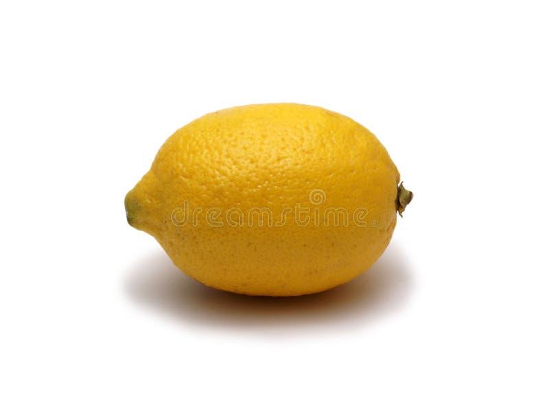 Limón aislado en blanco fotografía de archivo