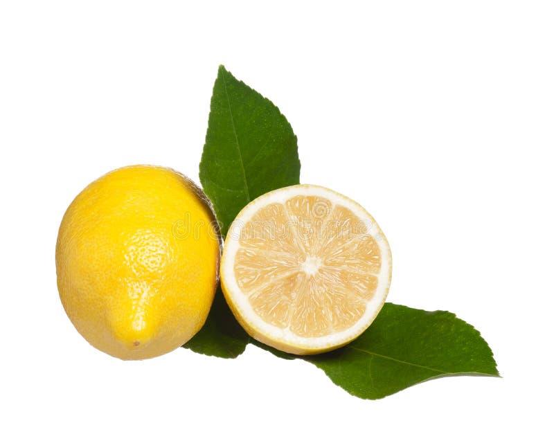 Limón amarillo fotos de archivo