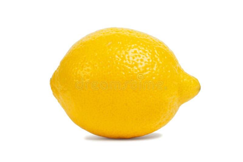 Limón en blanco fotografía de archivo