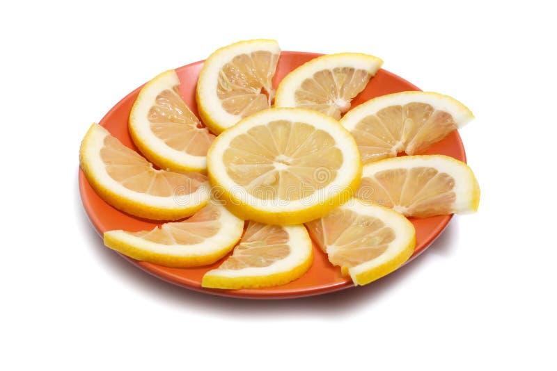 Limón en placa