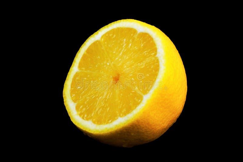 Limón-fruta cítrica, gusto amargo, vitaminas y el cocinar Cultivado en países con clima subtropical Frutas fragantes amarillas li fotos de archivo