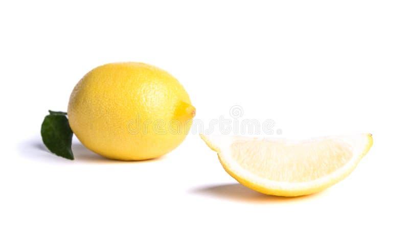 Limón maduro fotografía de archivo