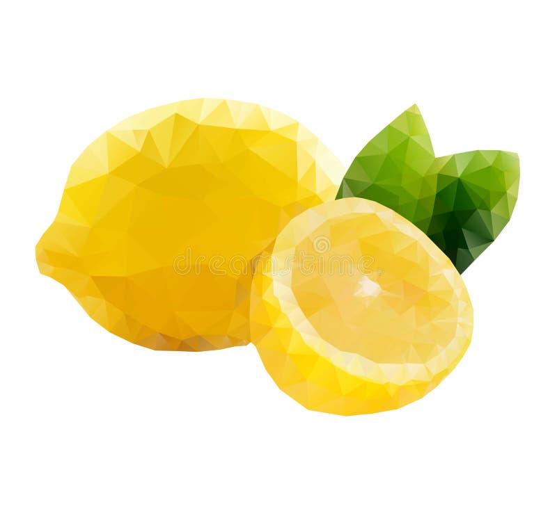 Limón polivinílico bajo libre illustration
