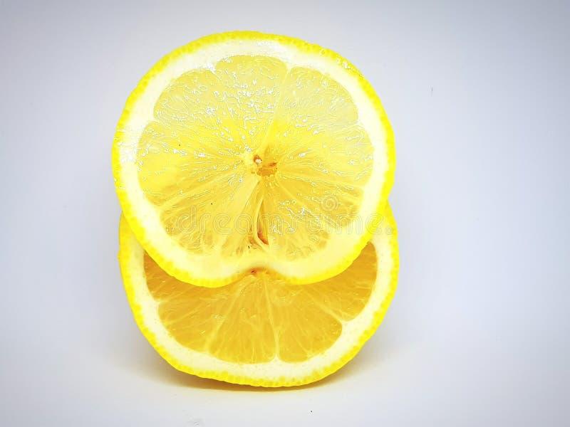 limón sano fresco y maduro del primer fotografía de archivo