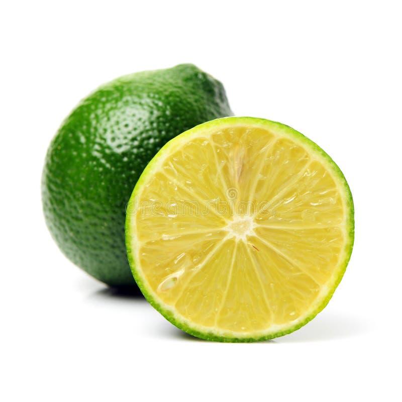 Limón verde fresco fotografía de archivo libre de regalías