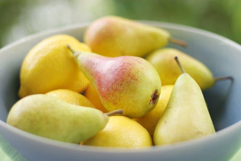 Limões & Peras Imagem de Stock