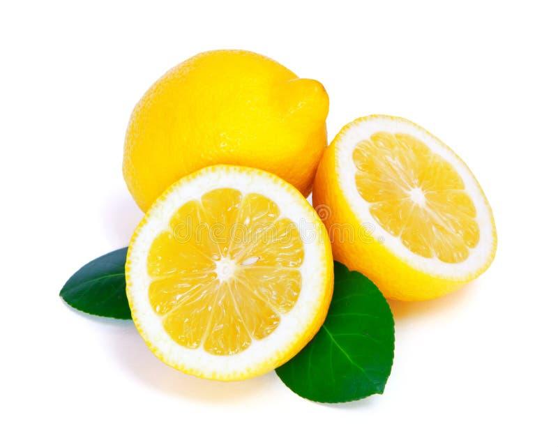 Download Limão imagem de stock. Imagem de folhas, citrino, branco - 29836505