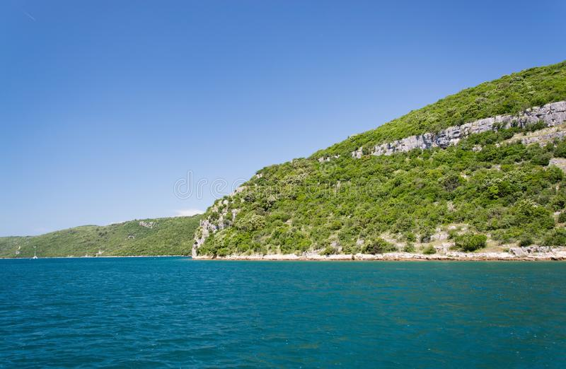 Lim-baie, Istria, Croatie photo stock