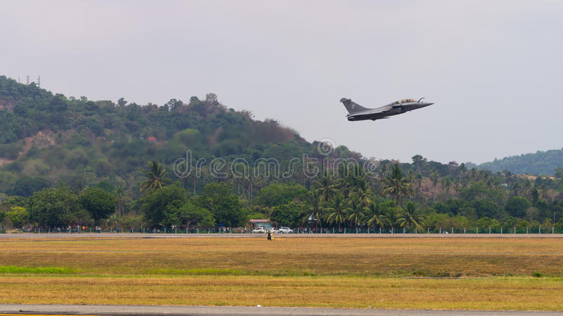 LIMA 2015 à Langkawi, Malaisie photos stock