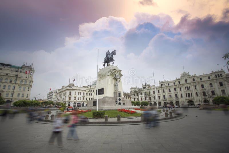 lima Перу стоковая фотография