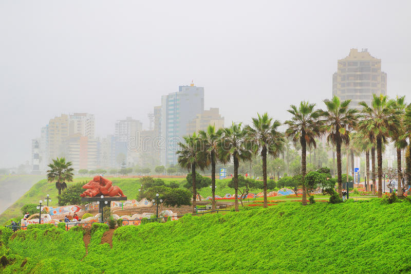 Lima, capital do Peru fotos de stock
