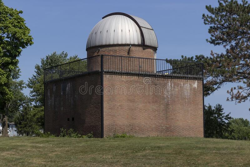 Schoonover Observatory. Operated by the Lima Astronomical Society, Schoonover Observatory was built in 1964 stock images