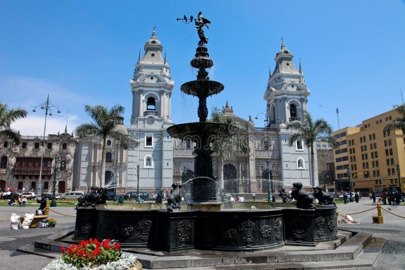 Lima, City stock image