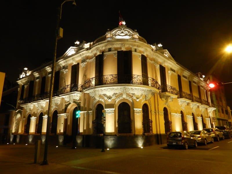 Lima de stad in stock fotografie