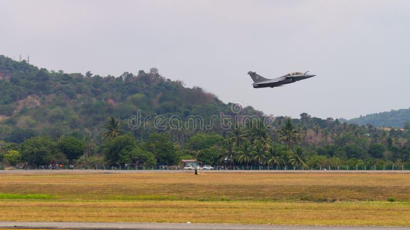 LIMA 2015 in Langkawi, Maleisië stock foto's