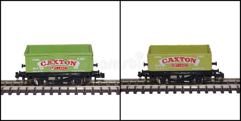 Lima N wymiernika modela Kolejowi furgony, Caxton obrazy stock