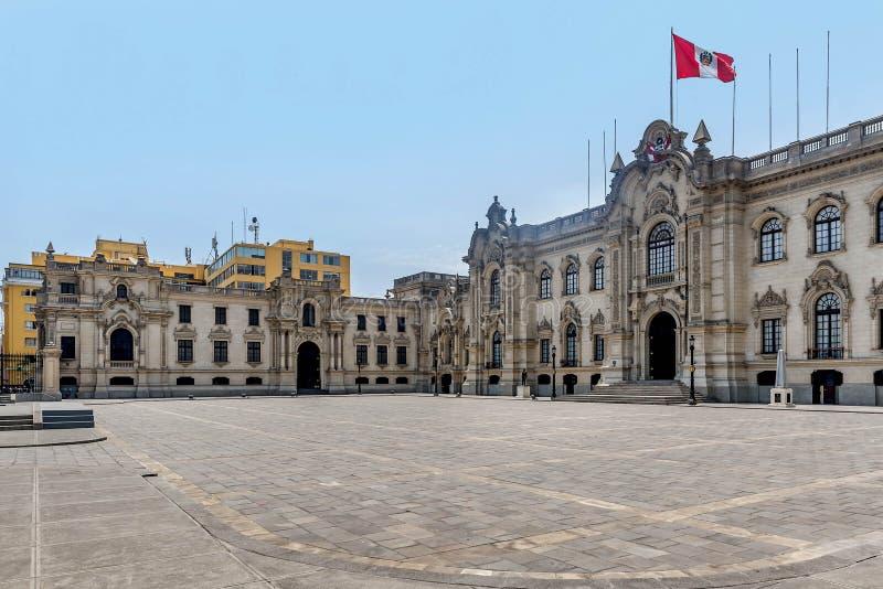 Lima Palace, Perú foto de archivo libre de regalías