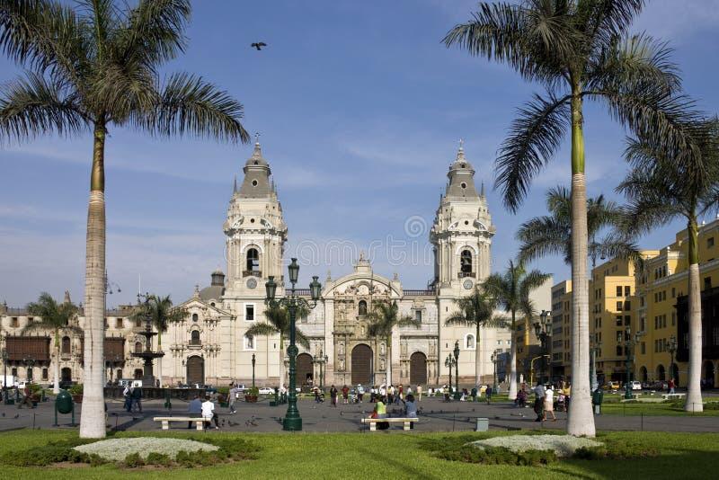 Lima - Peru - Ámérica do Sul imagens de stock