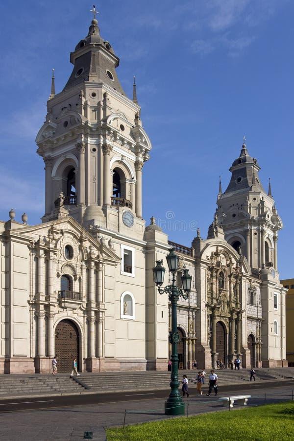 Lima - Peru - Ameryka Południowa obrazy stock