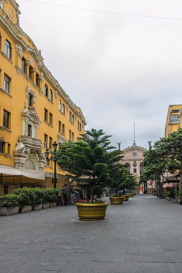 Lima Shopping Street imagenes de archivo