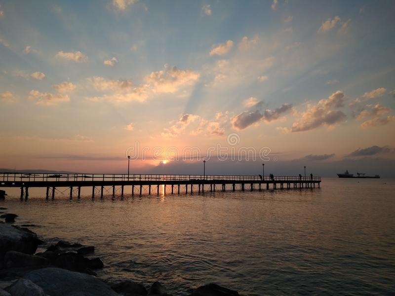 Limassol, Cyprus stock afbeelding