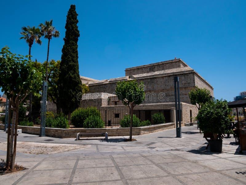 Limassol kasteel stock foto