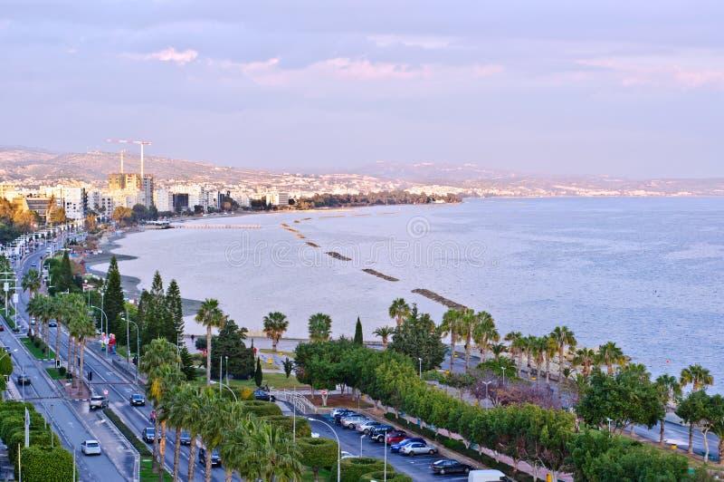 Limassol-Stadtbild lizenzfreie stockfotos
