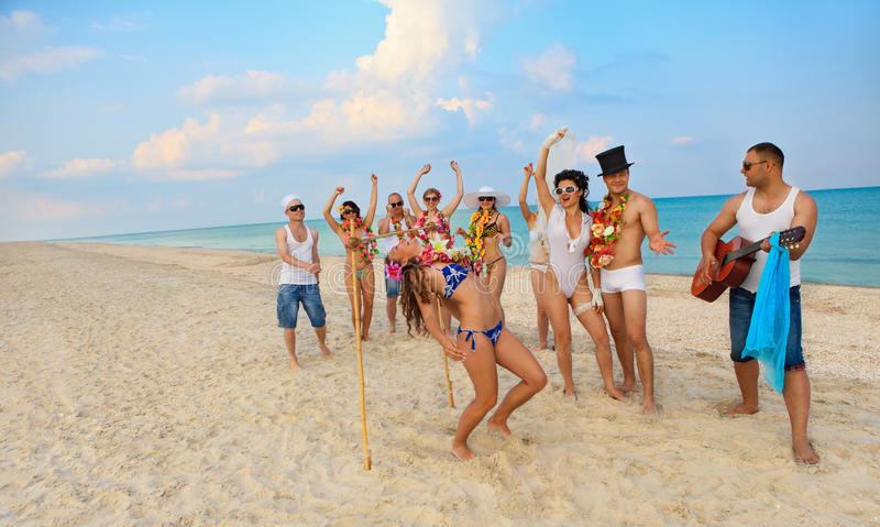 Download Limbo stock image. Image of outdoors, dance, island, holiday - 25430165
