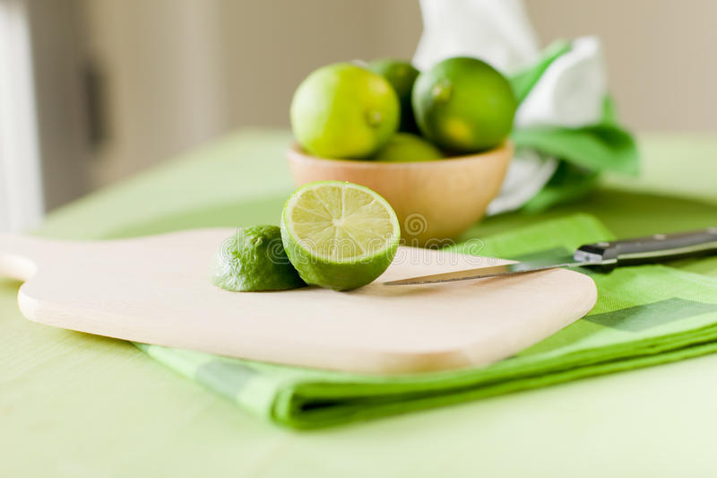 Download Lime stock image. Image of sour, cutting, window, tablecloth - 19889731