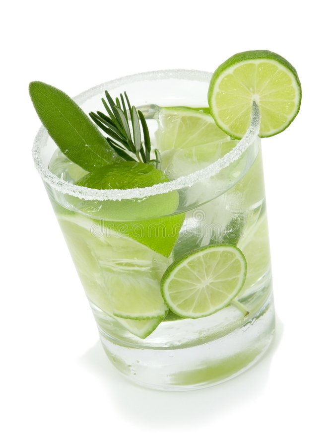 Lime Cocktail stock photography