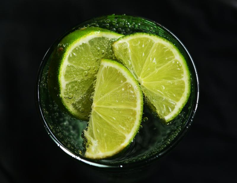 Lime drink royalty free stock photography