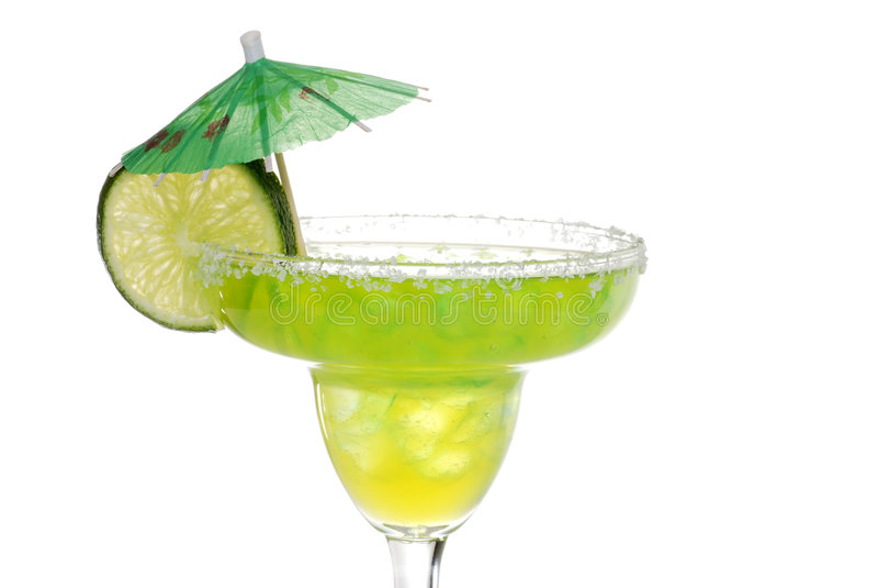 Lime flavored margarita stock photos