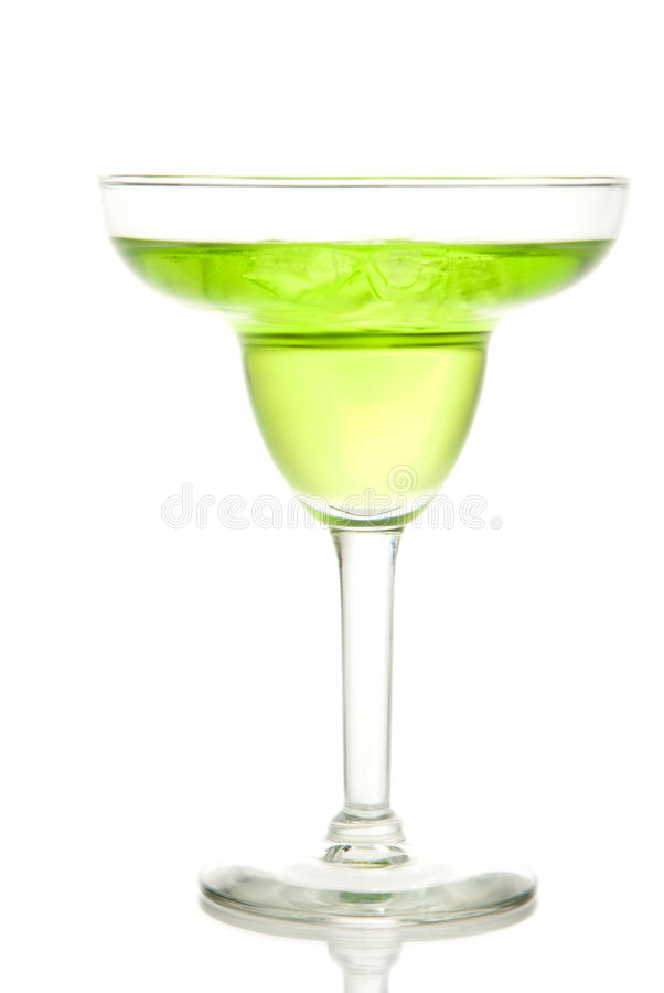 Download Lime And Green Apple Margarita Stock Image - Image: 17648633