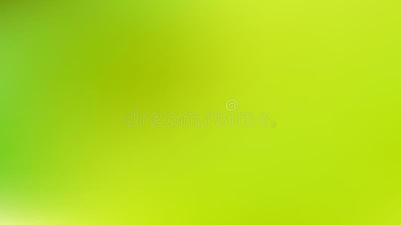 Lime Green Gaussian Blur Background vector illustratie