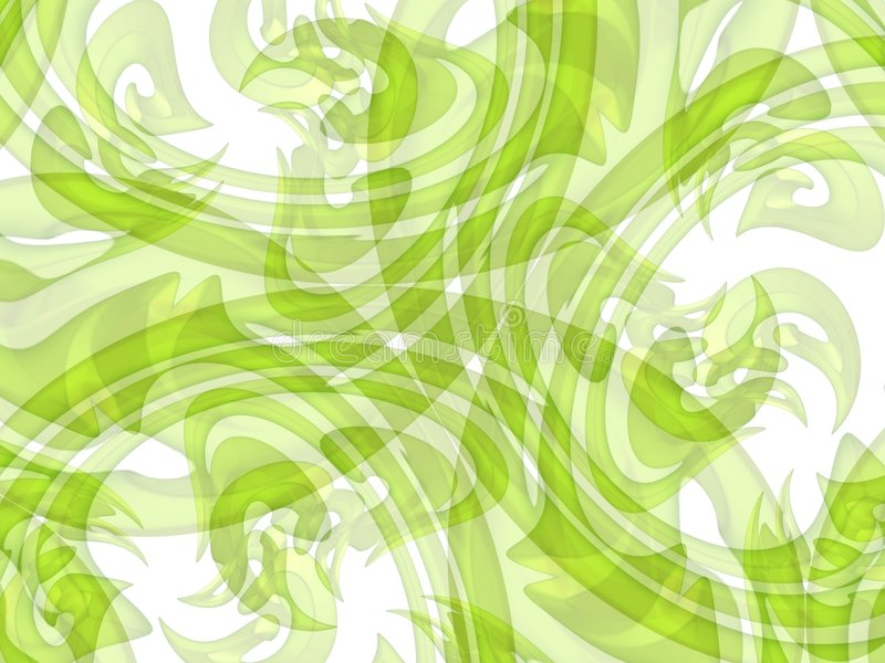 Lime Green Texture Background. Lime green abstract lines, swirls, and swooshes texture background pattern