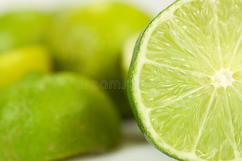 Lime_half stock photos