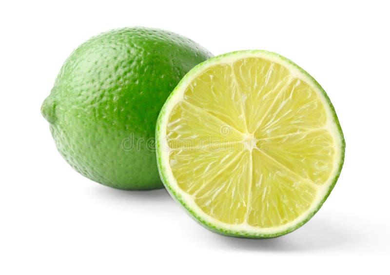 Lime and half stock photography