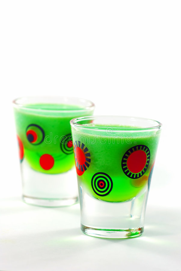 Free Lime Jello Shooters Stock Images - 4161844