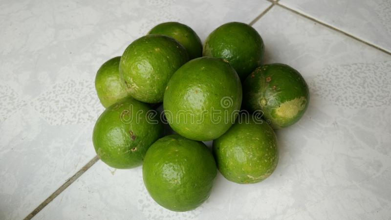 Lime. Plenty of lime shot with high resolutions stock image